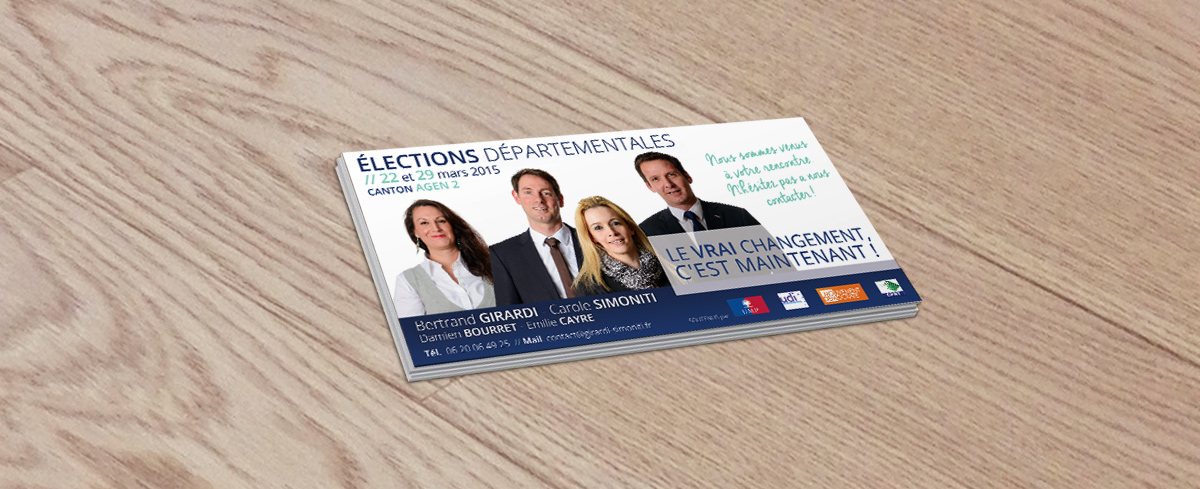 Election départementale 2015