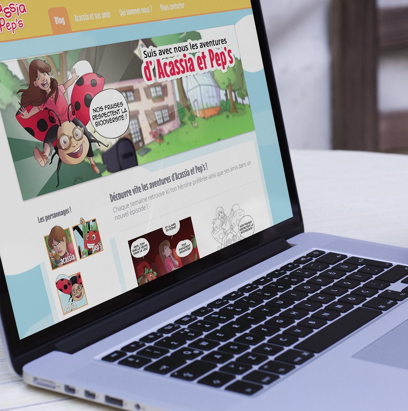 Webdesign - acassia