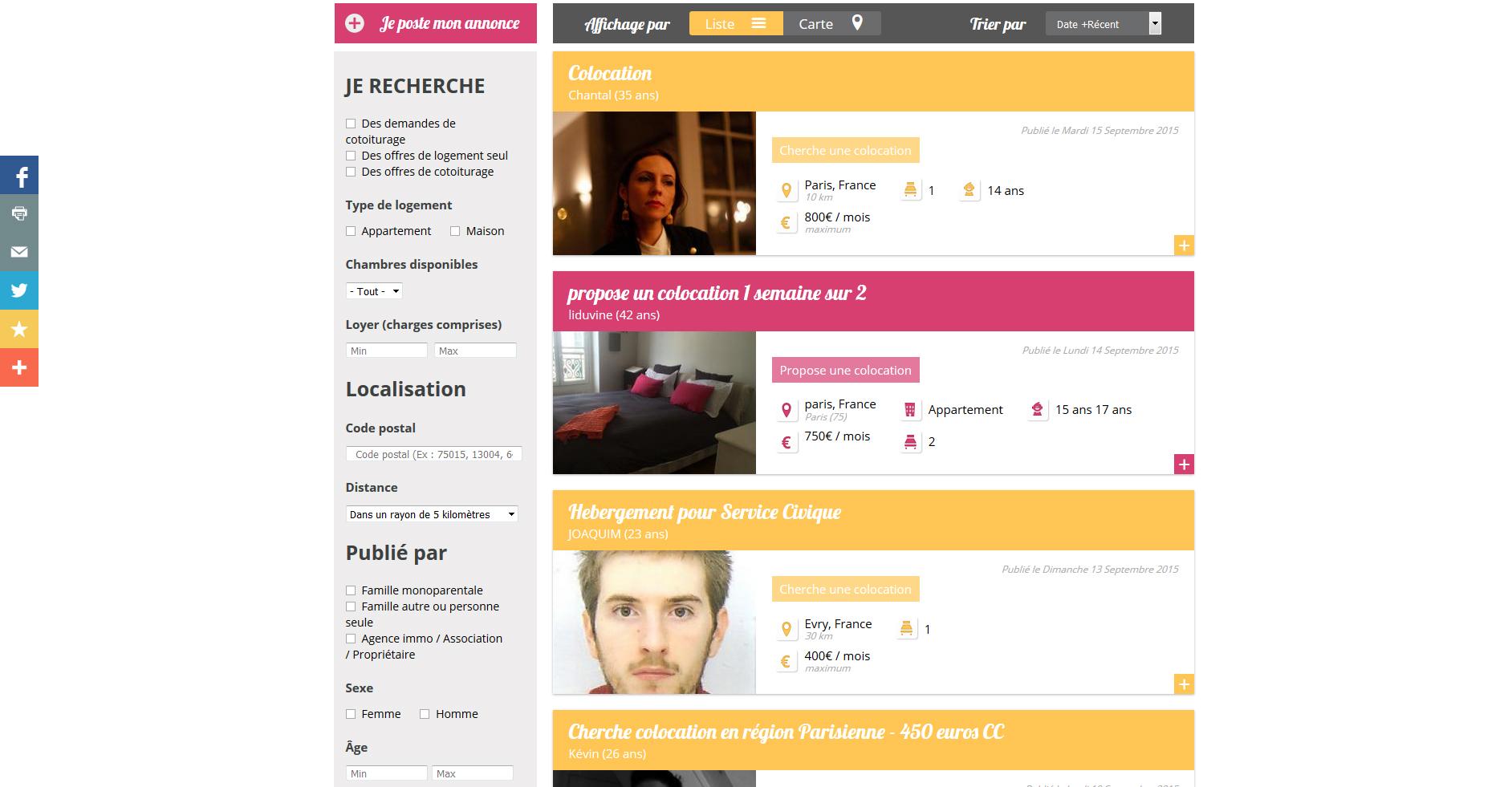 Webdesign cotoiturage.fr